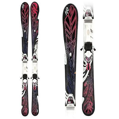 K2 T:Nine Free Luv Womens Skis with ERS 11.0 TC Bindings, , large