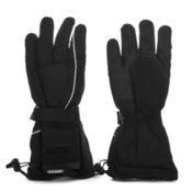 Grabber Battery Powered Heated Ski Gloves, Black, medium