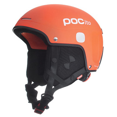 POC POCito Skull Light Kids Helmet 2016, Flourescent Orange, large