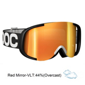 POC Cornea Goggles 2013, Black White-Red Mirror, medium