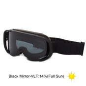 POC Cornea Goggles 2013, All Black Edition-Black Mirror, medium