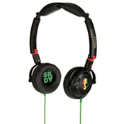 Skullcandy Lowrider Headphones Micd, Rasta, medium