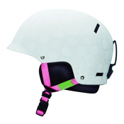 Giro Tag Girls Helmet, Matte White Roses, medium