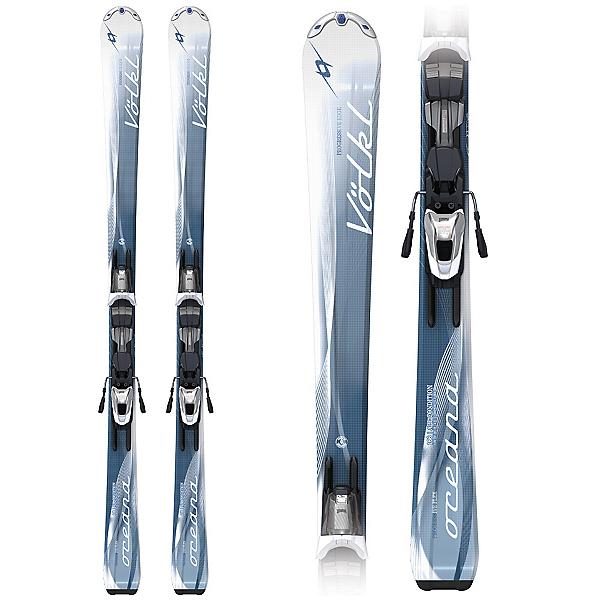 Volkl Attiva Oceana Womens Skis with Attiva Motion LT 10.0 Bindings, , 600