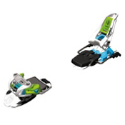 Marker The Squire Ski Bindings, White-Green-Blue, medium