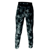 Hot Chillys Pepperskin Printed Kids Long Underwear Bottom, Pirates, medium