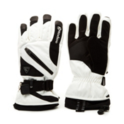 Grandoe Tundra Gloves, White-Black, medium