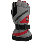 Grandoe Tundra Gloves, Stone-Race Red, medium
