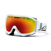 Smith Prophecy Goggles, White Foundation-Red Sol X, medium