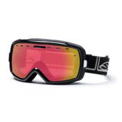Smith Heiress Womens Goggles, Black Foundation-Red Sensor Mi, medium