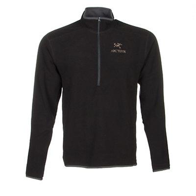 Arc'teryx Delta AR Zip Neck Mens Mid Layer, Black, viewer