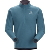 Arc'teryx Delta AR Zip Neck Mens Mid Layer, Blue Smoke, medium