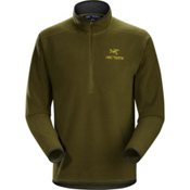 Arc'teryx Delta AR Zip Neck Mens Mid Layer, Dark Moss, medium