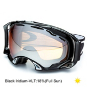 Oakley Splice Goggles 2013, Jet Black-Black Iridium, medium