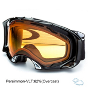 Oakley Splice Goggles 2013, Jet Black-Persimmon, medium