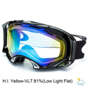 Oakley Splice Goggles 2014, Jet Black-High Intensity Yellow, medium