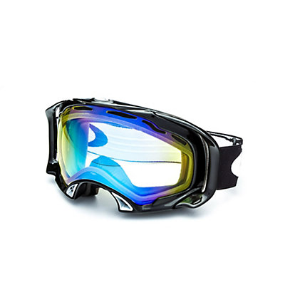 Oakley Splice Goggles, Jet Black-Fire Iridium, viewer