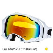 Oakley Splice Goggles 2014, Polished White-Fire Iridium, medium