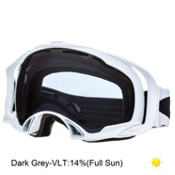 Oakley Splice Goggles 2014, Polished White-Dark Grey, medium
