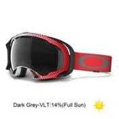 Oakley Splice Goggles 2013, Half Tone Red White-Dark Grey, medium