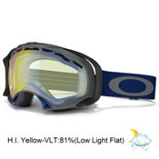 Oakley Splice Goggles 2014, Gunmetal Navy-H.i. Yellow, medium