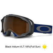 Oakley Splice Goggles 2014, Gunmetal Navy-Black Iridium, medium