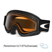 Oakley L Frame OTG Goggles 2013, Black-Persimmon, medium