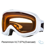 Oakley Elevate Womens Goggles 2013, Polished White-Persimmon, medium