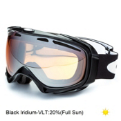 Oakley Elevate Womens Goggles 2014, Jet Black-Black Iridium, medium