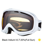 Oakley Elevate Womens Goggles 2014, Polished White-Black Iridium, medium