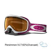 Oakley Elevate Womens Goggles 2013, White Lava Studs-Persimmon, medium