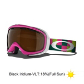 Oakley Elevate Womens Goggles 2014, Pink Digi Camo-Black Iridium, medium