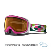 Oakley Elevate Womens Goggles 2014, Pink Digi Camo-Persimmon, medium