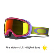 Oakley Elevate Womens Goggles 2013, Sunset-Fire Iridium, medium