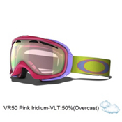 Oakley Elevate Womens Goggles 2013, Sunset-Vr50 Pink Iridium, medium