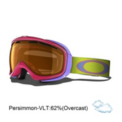 Oakley Elevate Womens Goggles 2014, Sunset-Persimmon, medium