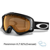 Oakley Crowbar Alternative Fit Goggles, Jet Black-Persimmon, medium