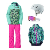 The North Face Ricas Jacket & The North Face Freedom LRBC Pant Women's Outfit, , medium