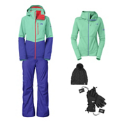 The North Face Sickline Jacket & The North Face Freedom Pant Women's Outfit, , medium