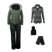 Obermeyer Bombshell Jacket & Obermeyer Envy Pant Women's Outfit, , medium