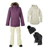 Burton TWC Wanderlust Jacket & Burton Lucky Pant Women's Outfit, , medium