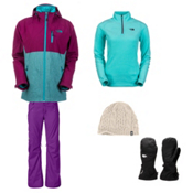 The North Face Thermoball Triclimate Jacket & The North Face Freedom Pant Women's Outfit, , medium