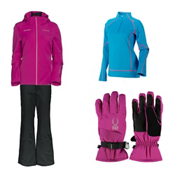 Spyder Tresh Jacket & Spyder Winner Athletic Pants Womens Outfit, , medium