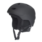 Bern Brentwood Knit Audio Helmet, Matte Black-Black Audio, medium