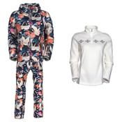 Bogner Mabel D Ski Jacket & Bogner Terri Pants Womens Outfit, , medium