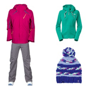 The North Face Cool-Ridge Jacket & The North Face Freedom LRBC Pants Womens Outfit, , medium