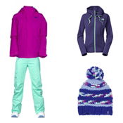 The North Face Moonstruck Jacket & The North Face Freedom LRBC Pants Womens Outfit, , medium