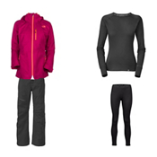 The North Face Thermoball Snow Triclimate Jacket & The North Face Thermoball Snow Pant Women's Outfit, , medium