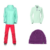 The North Face Helata Triclimate Jacket & The North Face Freedom LRBC Pant Women's Outfit, , medium