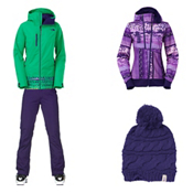 The North Face Wanda Insulated Jacket & The North Face Farrows Pant Women's Outfit, , medium